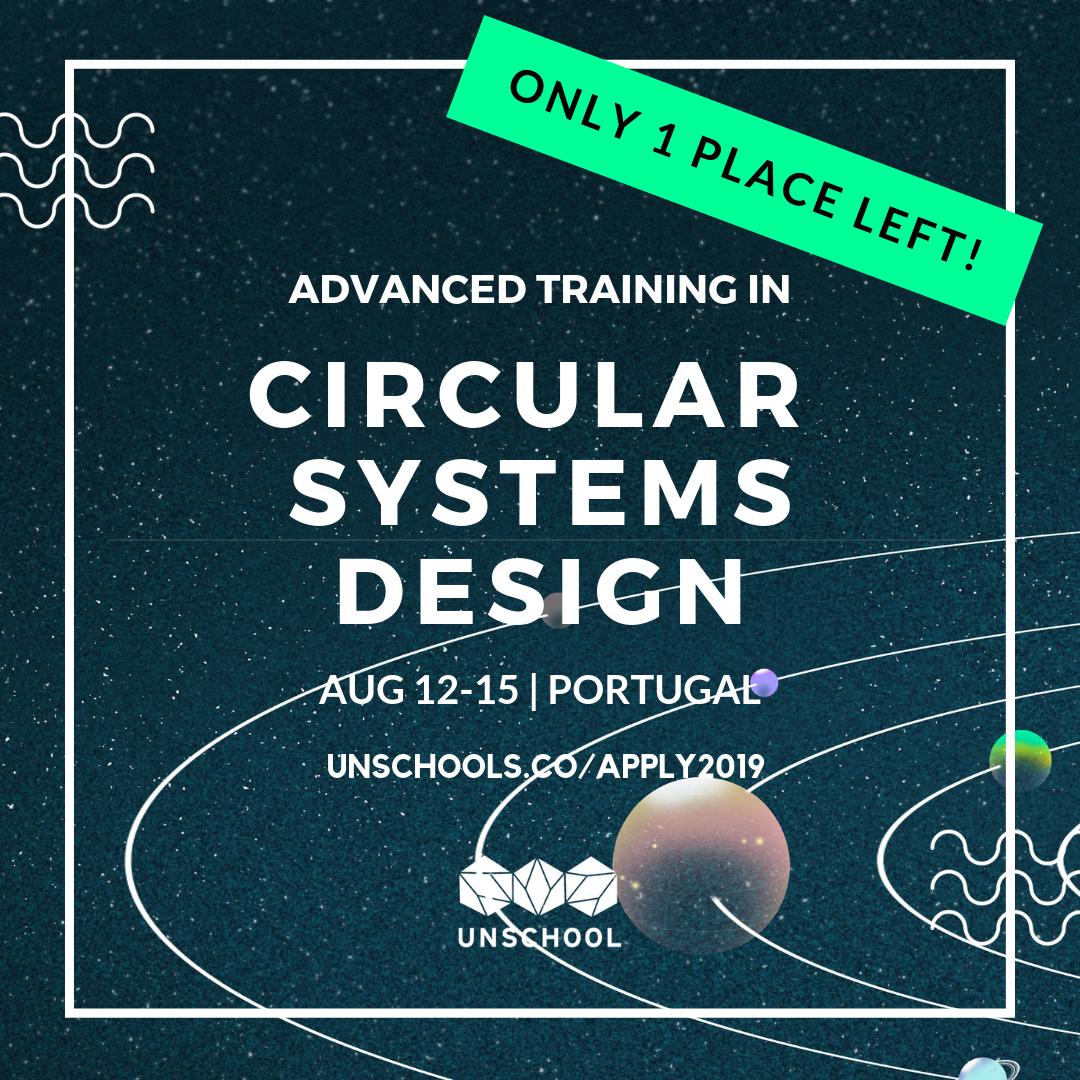 circular systems design workshop with leyla acaroglu