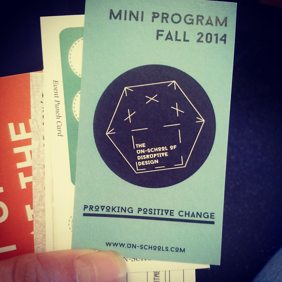 Then mini program that we launched with in NYC in Sept 2014 (and the old website we had!)