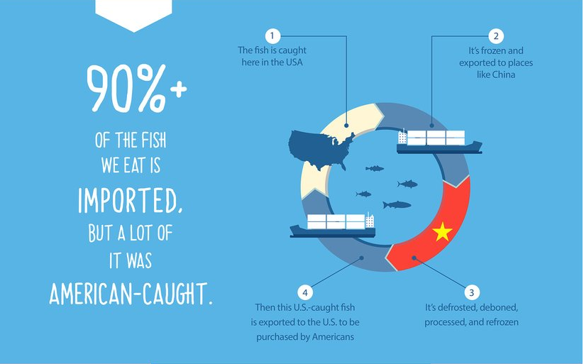 Infographic from Fish People Seafood