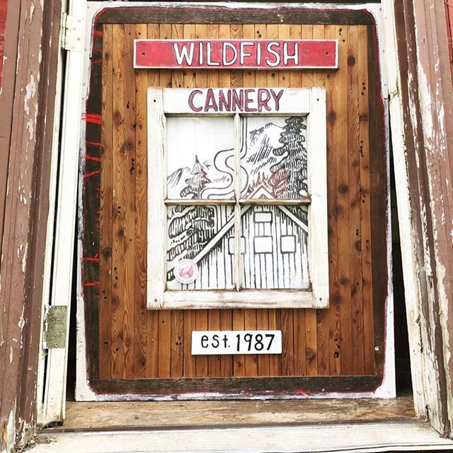 We ♥️ @wildfishcannery!  Nearly 2.5 years ago. I - the land-locked Colorado gal- (who knew very little about processing fish but wanted to start a seafood biz with her fisherman partner in AK) called up @wildfishcannery to smoke/can our fish, which eventually led to the most important partnership of our business- processing all our fish. We would NOT be in existence without them. This week, we got to spend time at the cannery and witness their handcrafted details they put into every single filet and can. Turns out they are absolute local legends (three generations have owned the business) on the Prince of Wales Island...which is also extremely remote...and blows my mind that we catch our fish in the big ocean, process it on this tiny island and bring it back to our small mountain towns. It is an honor to be part of this tradition. #wildsalmontowildmountains #alaskatradition
