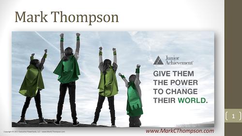Copy of Keynote Speaker: Mark Thompson