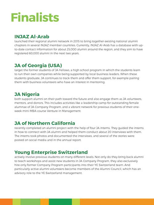 Copy of Winners: INJAZ Al-Arab and JA Nigeria (tie)