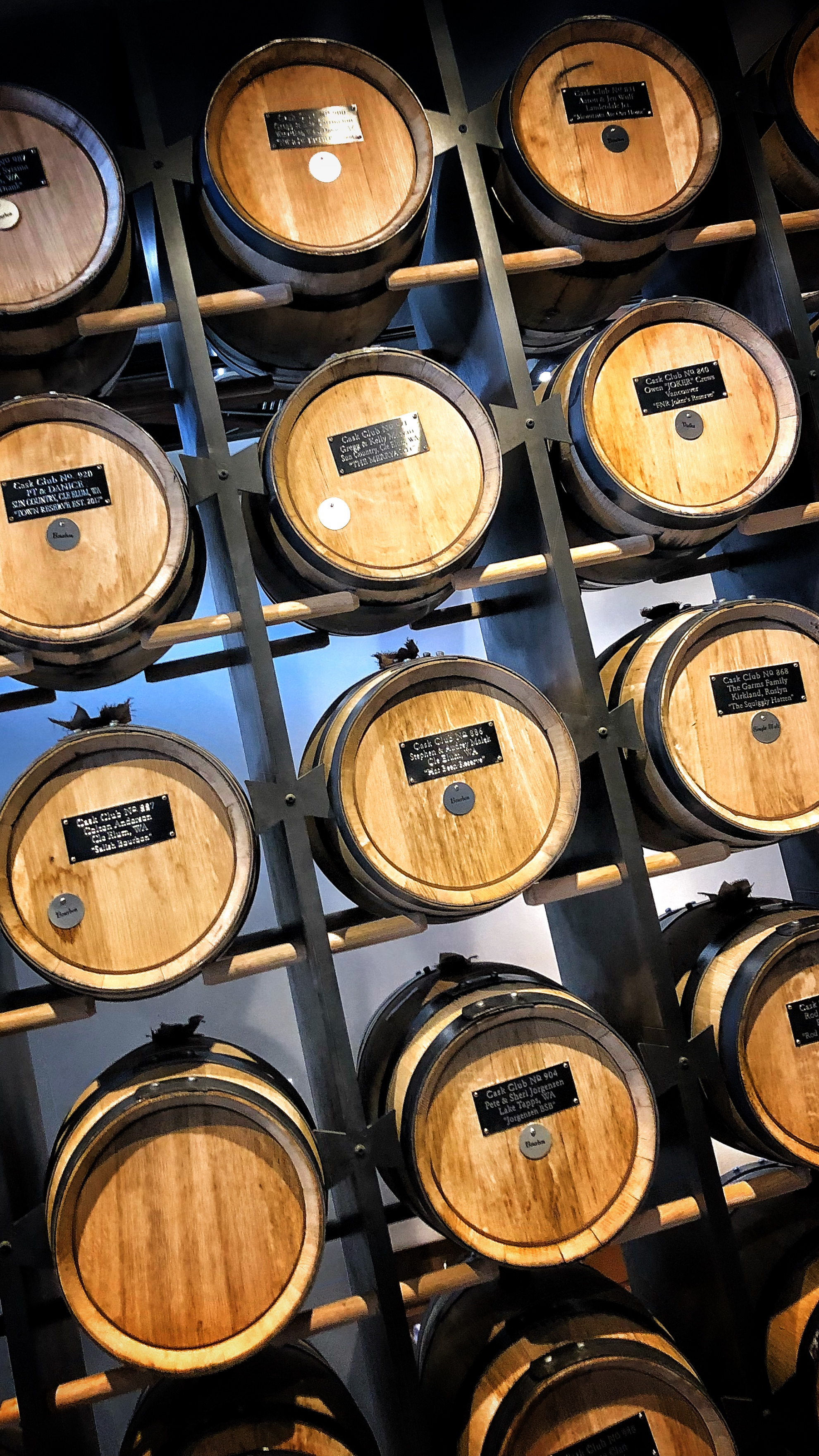 Heritage has a barrel program. Fill your own barrel and bottle it when it gets perfect for you. They'll even add a vanilla bean or orange peels if you want to try your hand at infusing.