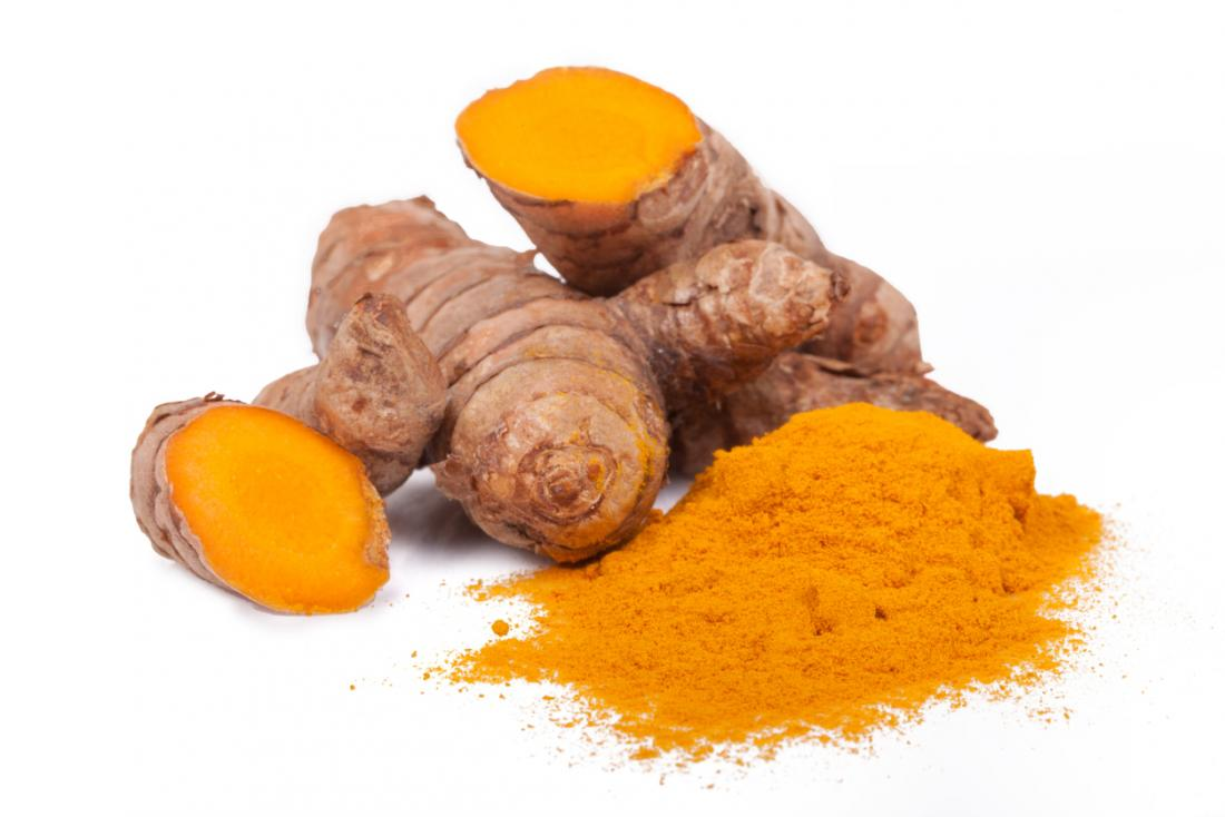 turmeric is related to ginger and grown primarily in Asia and India. It's what gives curry it's yellow color.