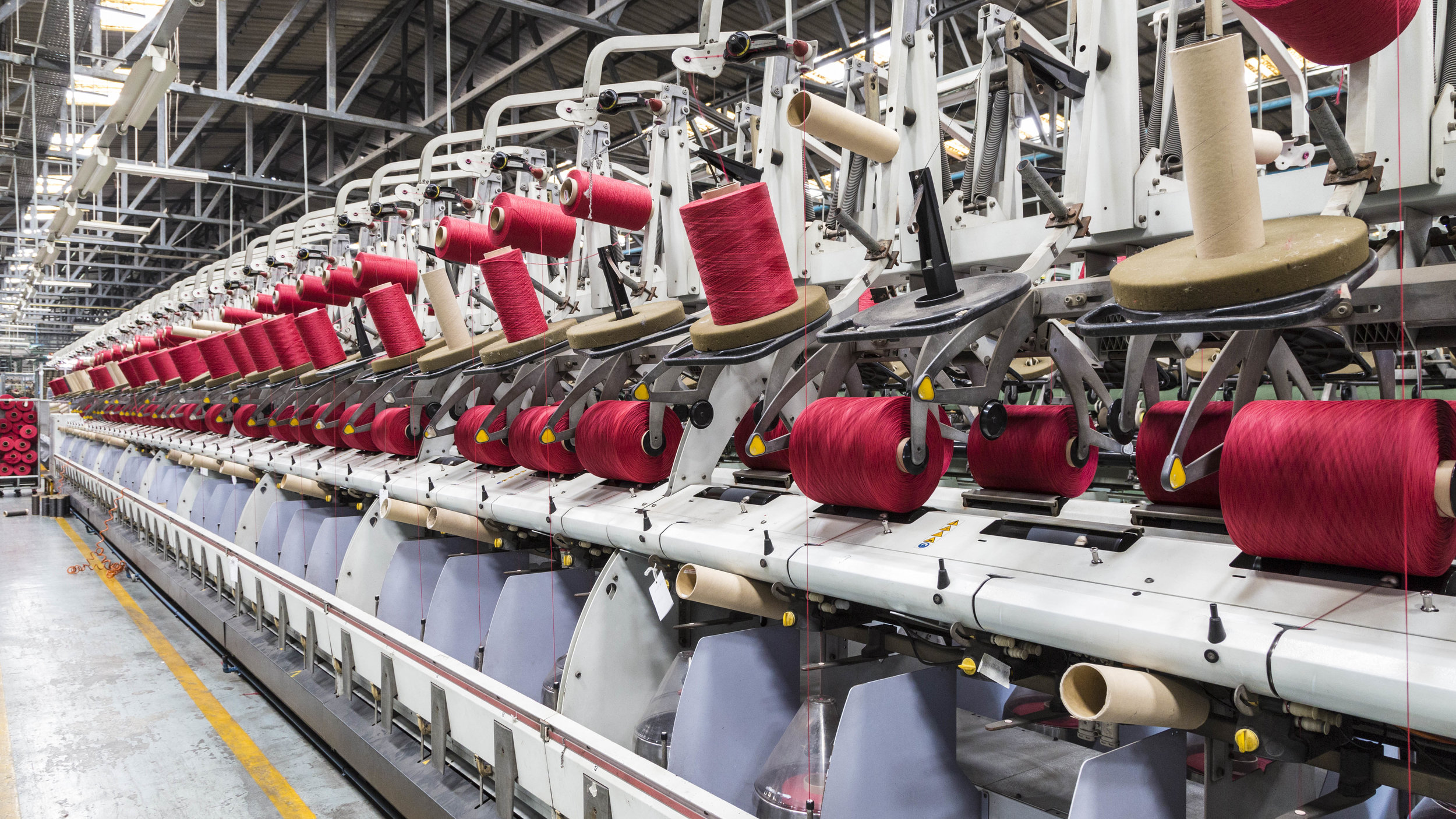 Fiber & Yarn Production - At Carpets Inter we begin with the best materials,including natural wool fibers from New Zealand and the UK. We also use both in-house and imported man-made fibers and yarns such as nylon, olefin,and polyester.