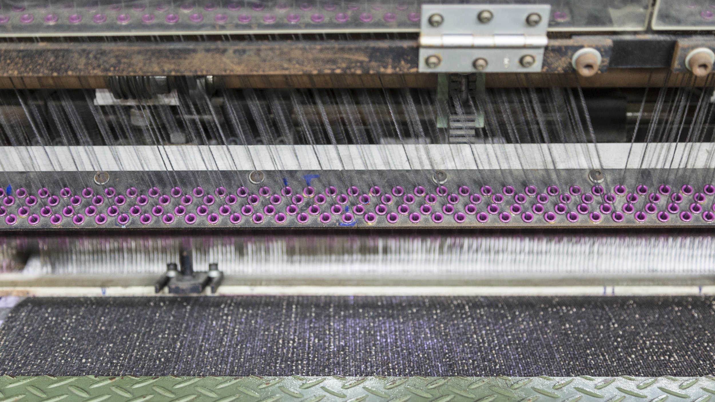 Weaving & Tufting - We are the largest Axminster carpet weaver in South East Asia with over 36 looms. We also produce Woven Wilton, Hand Tufted, Machine Tufted,Carpet Tiles, and Needle Punched Carpets.