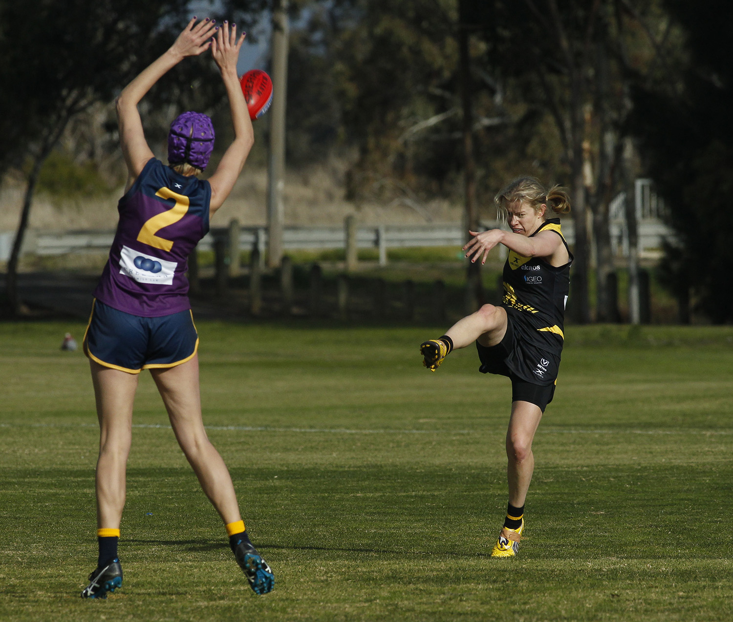 Ashley's speed and skills added to the Waverley Warriors armoury during the team's first season.