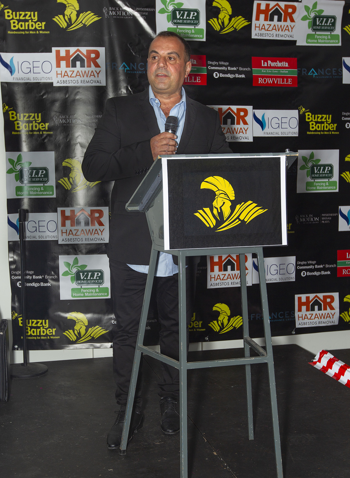 As President of the Waverley Warriors, with two daughters who loved the game Angelo Sercia quickly realised the importance of women's masters football to his club.