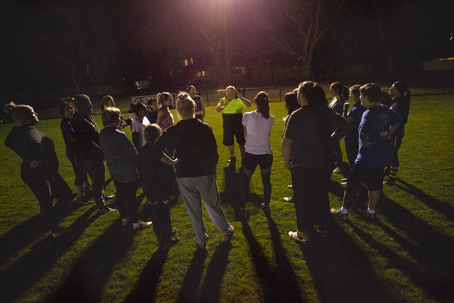 From the earliest (coldest!) training nights coach Peter Nash encouraged a strong team ethos and aimed to build mutual respect amongst the players and for the foundations of the game they were participating in…