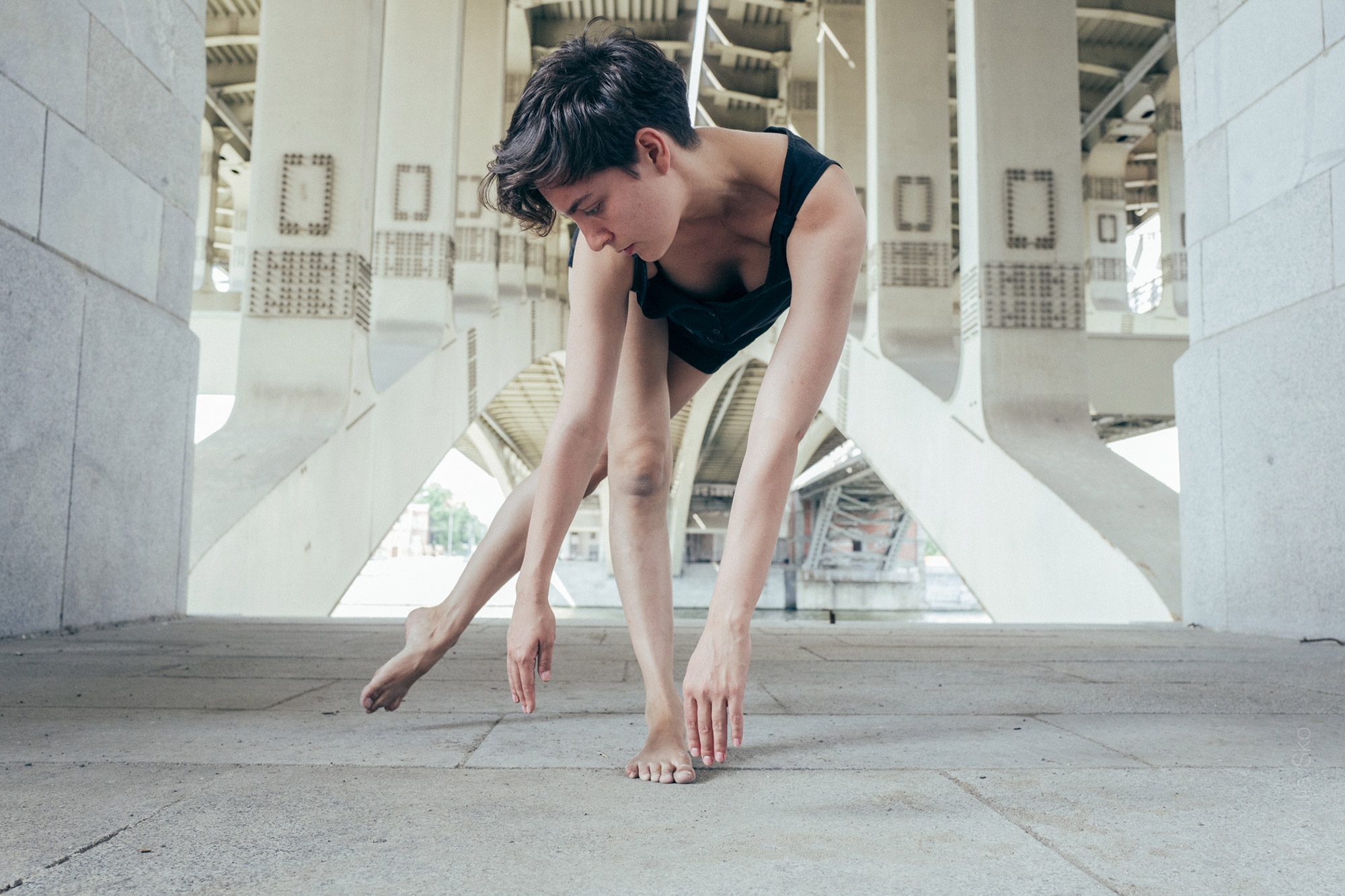 under the bridge: geometry collaboration with Mariam