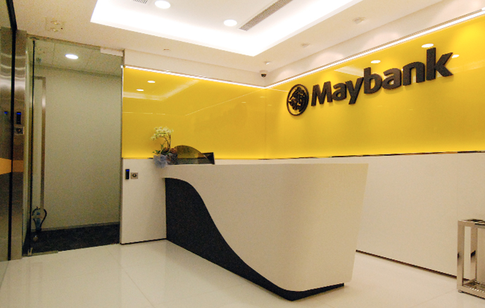 Maybank  Central, 18,000 sq. ft.