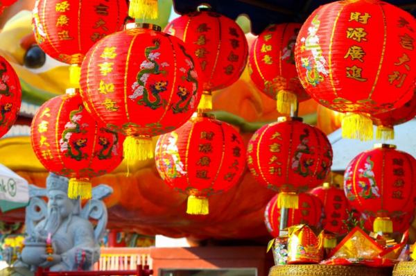 In China red culturally symbolises good luck and good fortune