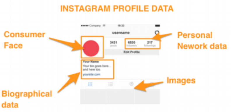 instagram data