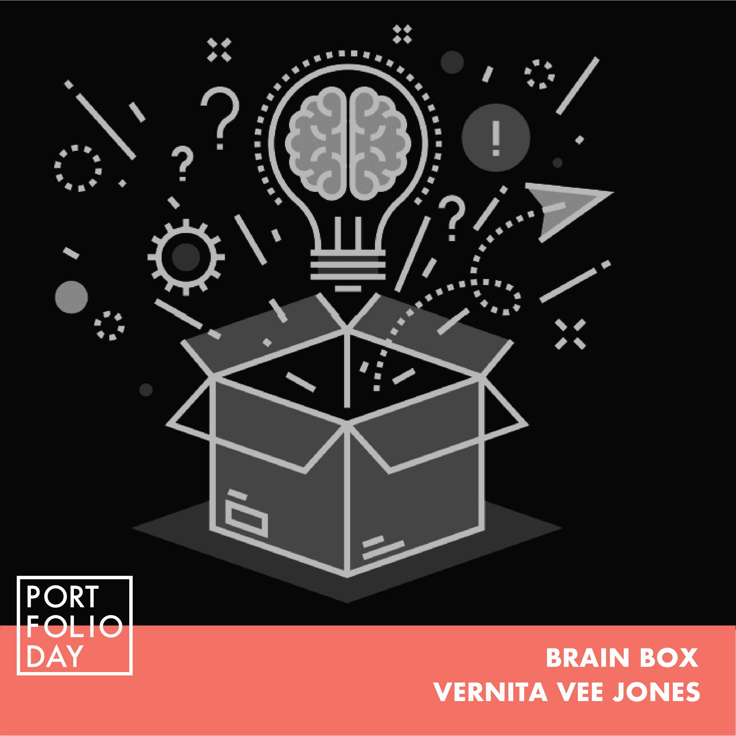 EVENT TIME: 17.00 - 18.00   Two heads are better than one. Now imagine - What could you achieve with a room filled with ideas? Brain box gives you the opportunity to share ideas with an international team with experiences in finance, marketing, product development, psychology, and design.  Vernita is a marketing professional from South Africa who has a keen interest in sustainable development. She is a qualified financial adviser as well as a Neuro-Linguistic Programming practitioner.