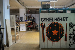 Cykelköket:Members Night - 4 Sept 17.00 - 21.00DIY Bicycle workshop: patch a flat tyre or build a bike from scratch.Membership 100 SEK/ year