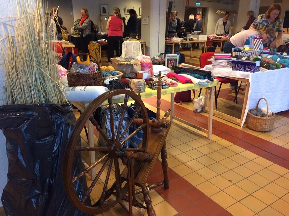 Craft Flea Market - 7 Sept 11.00 - 15.00 (Drop-In)Loppis (flea market) of craft materials and goods organised by Malmö Stadens Handicraft Society.