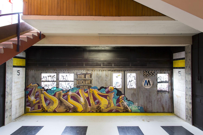 Shady Collective & Sofles installation, Spectrum 2015 Christchurch – credit Luke Shirlaw