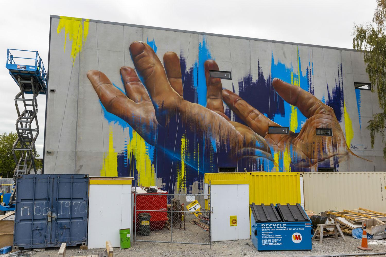 Adnate mural, Spectrum 2015 Christchurch – credit Luke Shirlaw