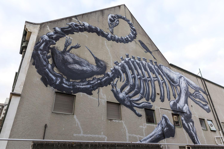 ROA mural, Rise 2014 Christchurch – credit Luke Shirlaw