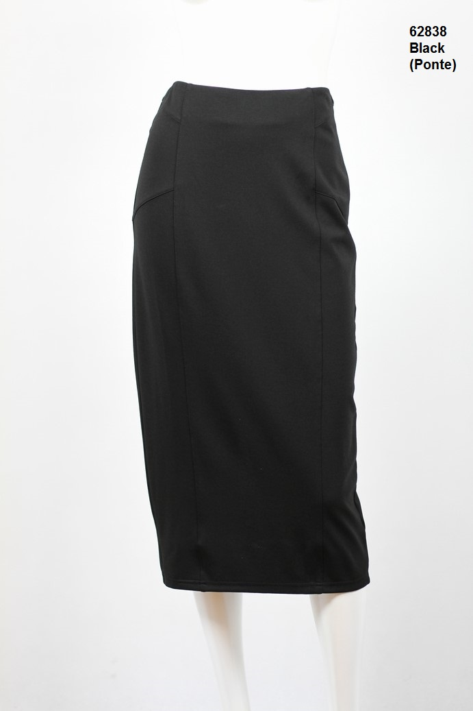 62838-Ponte Skirt-Black.JPG