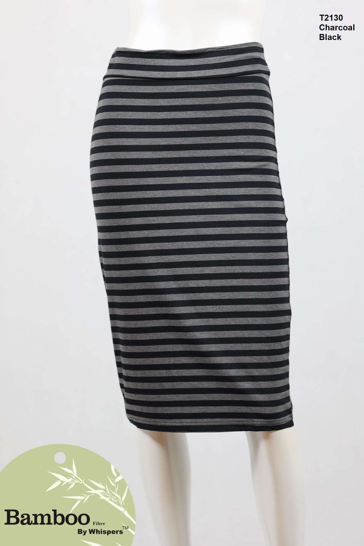 T2130-Bamboo Skirt-Charcoal Black.JPG