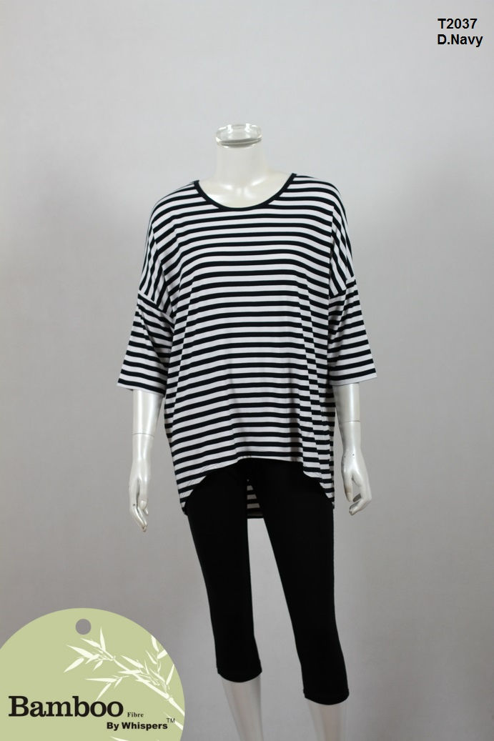 T2037-Bamboo Top-D.Navy White.JPG