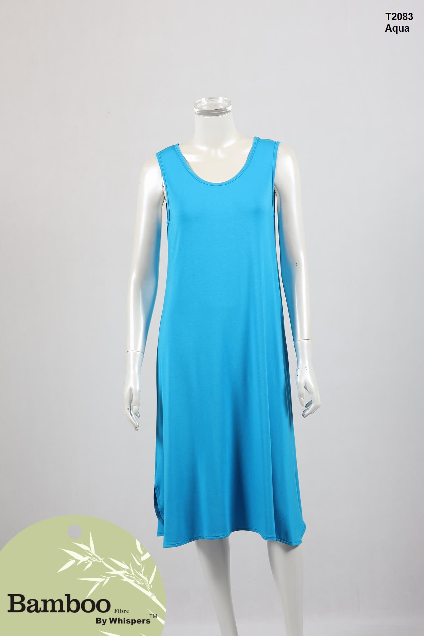 T2083-Bamboo Dress-Aqua.JPG