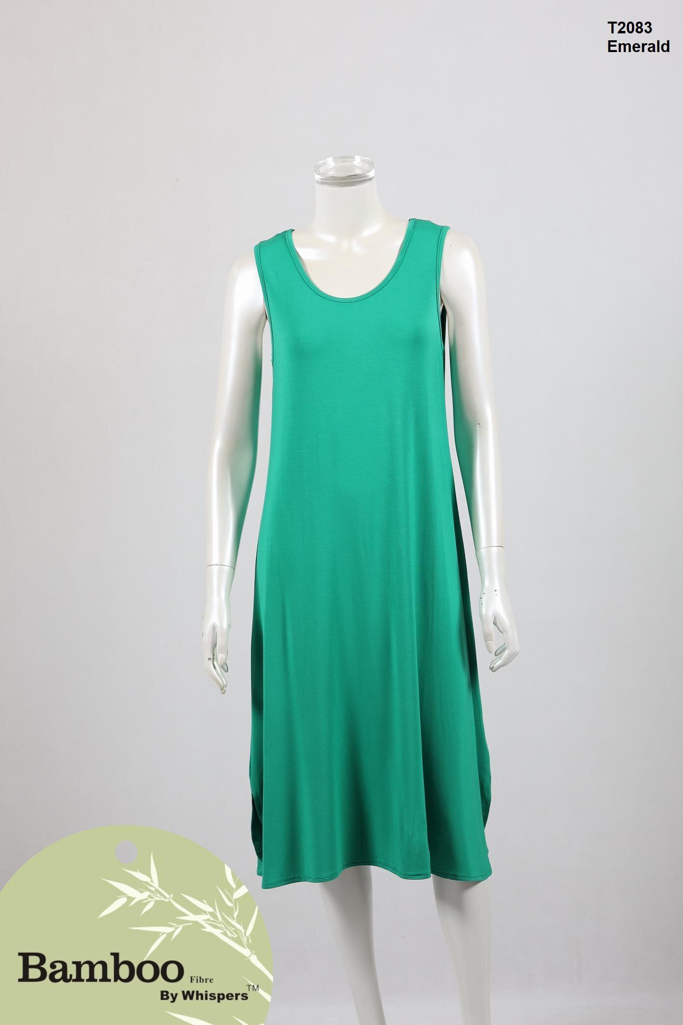 T2083-Bamboo Dress-Emerald.JPG