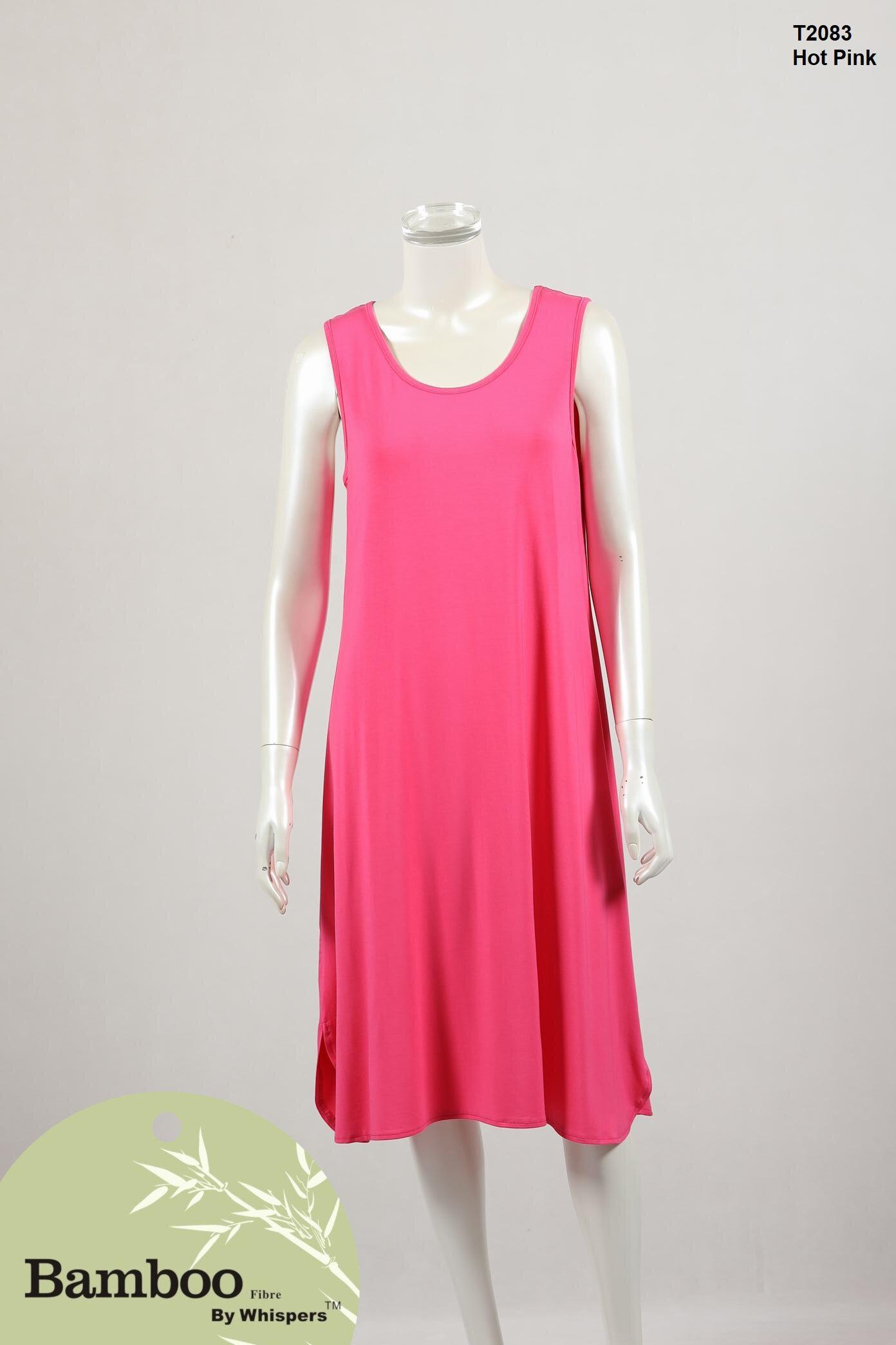 T2083-Bamboo Dress-Hot Pink.JPG
