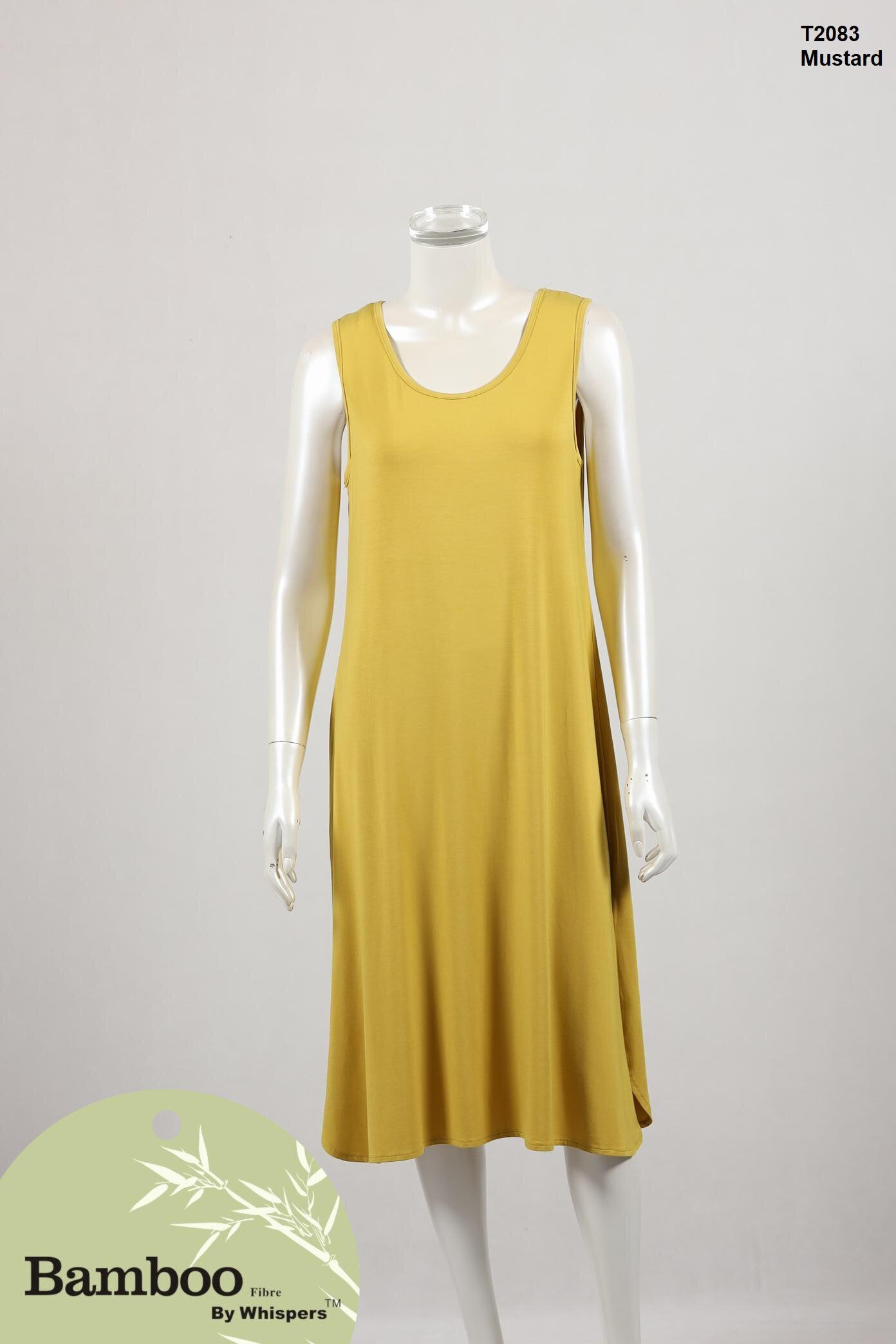 T2083-Bamboo Dress-Mustard.JPG