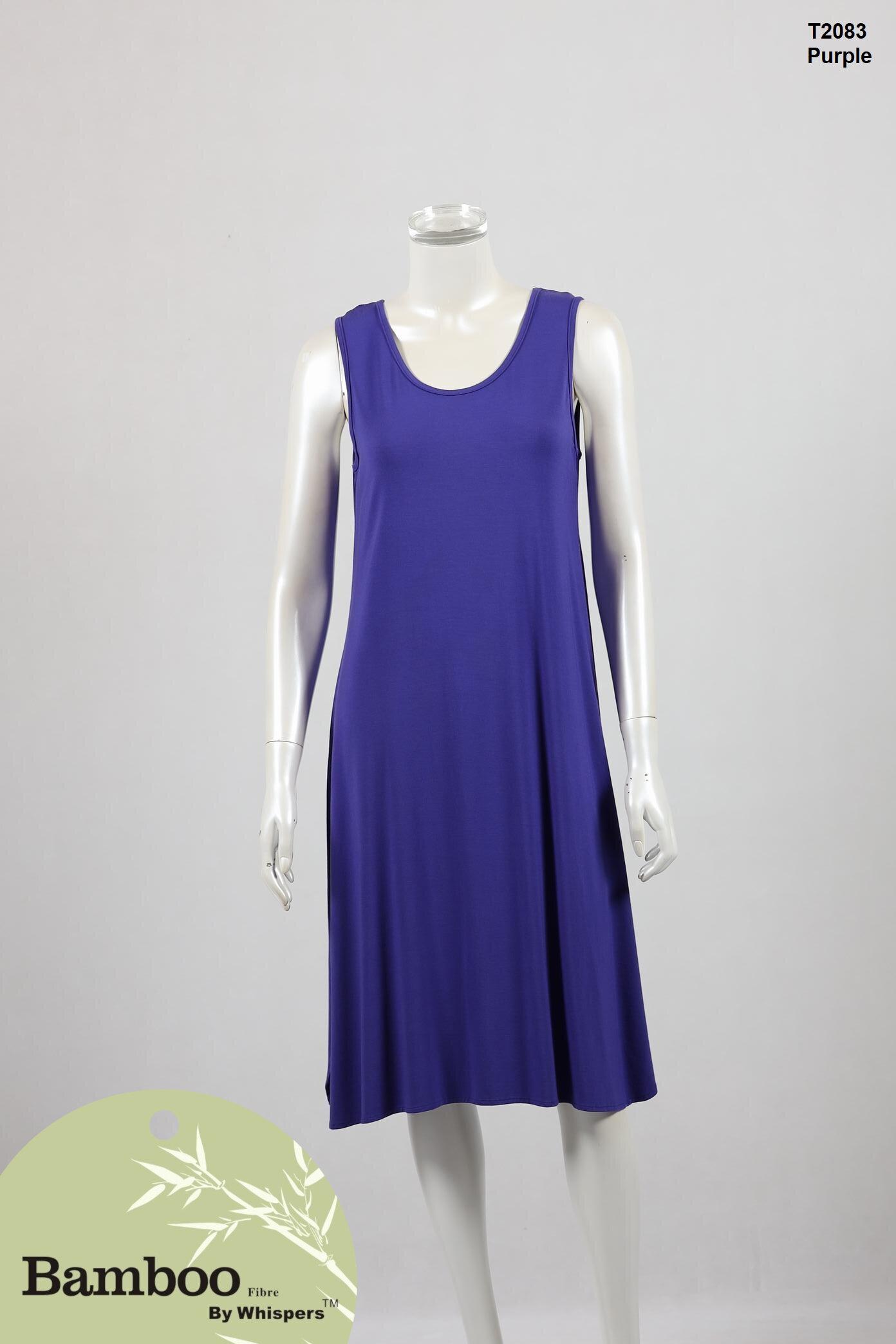 T2083-Bamboo Dress-Purple.JPG
