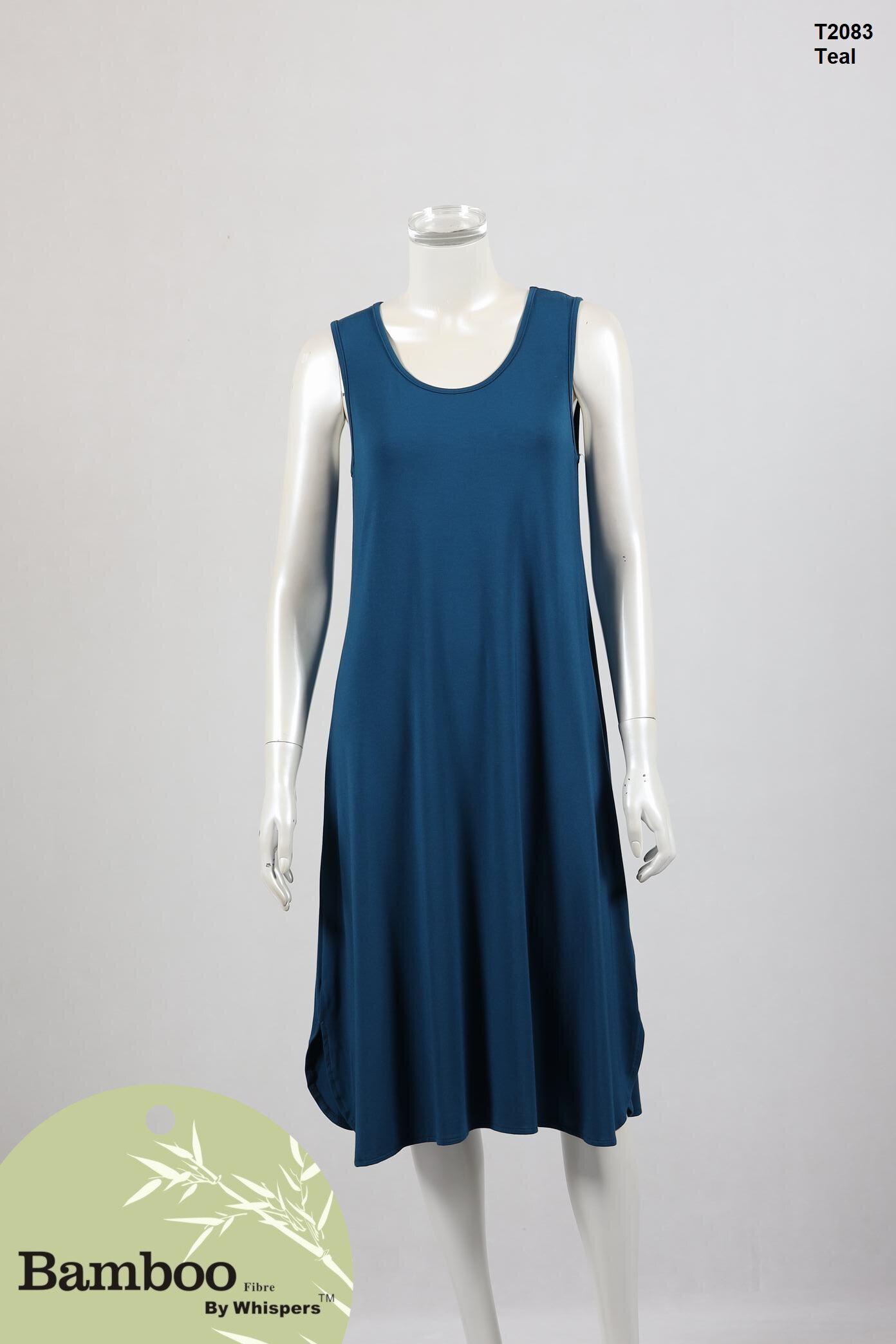 T2083-Bamboo Dress-Teal.JPG