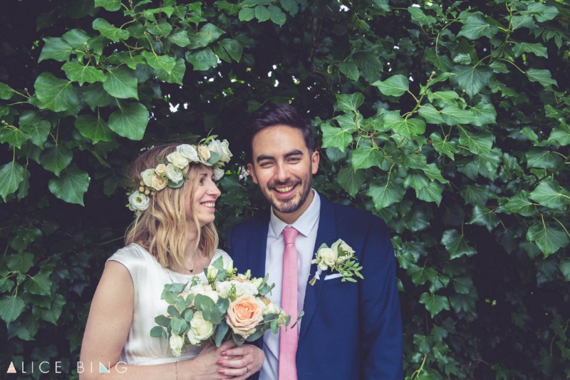 Sarah & James's East London Wedding, July 2017 Picture by  Alice Bing