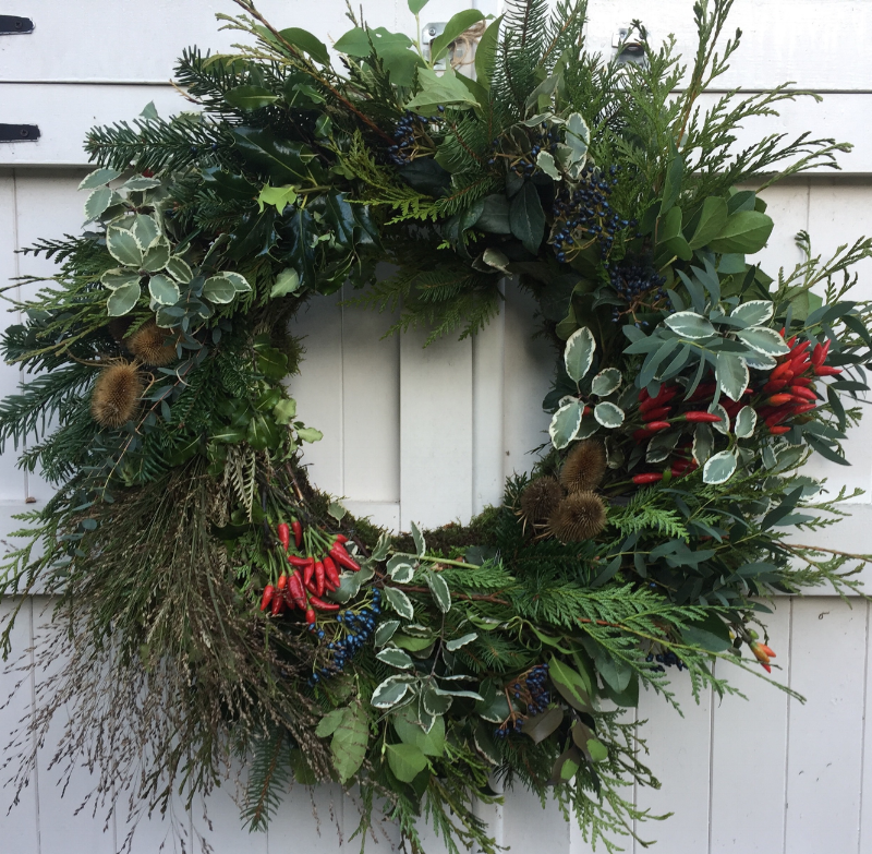 Winter Wreath, Urban Flower Farmer......