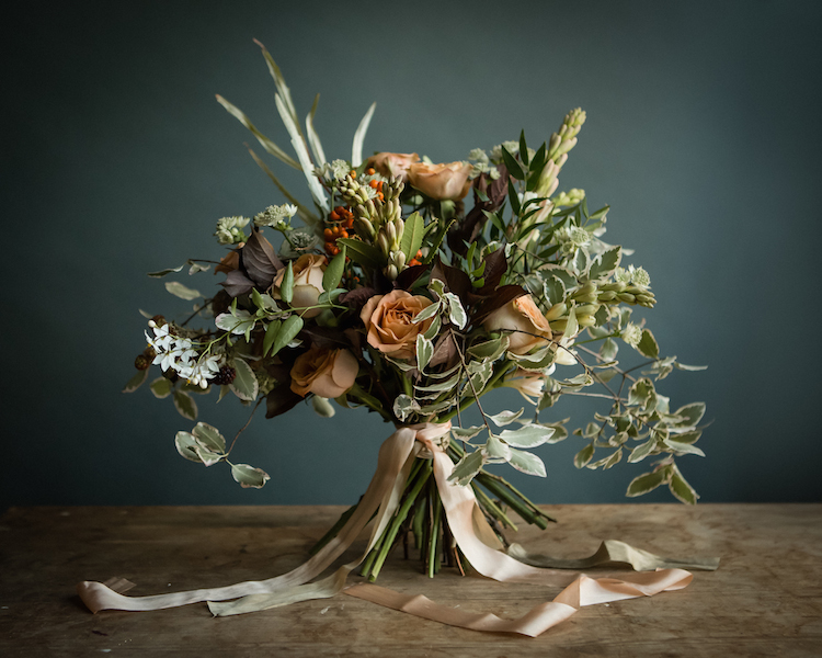 Hand Tied Bouquet from a shoot we did with Samantha Black Photography last year….