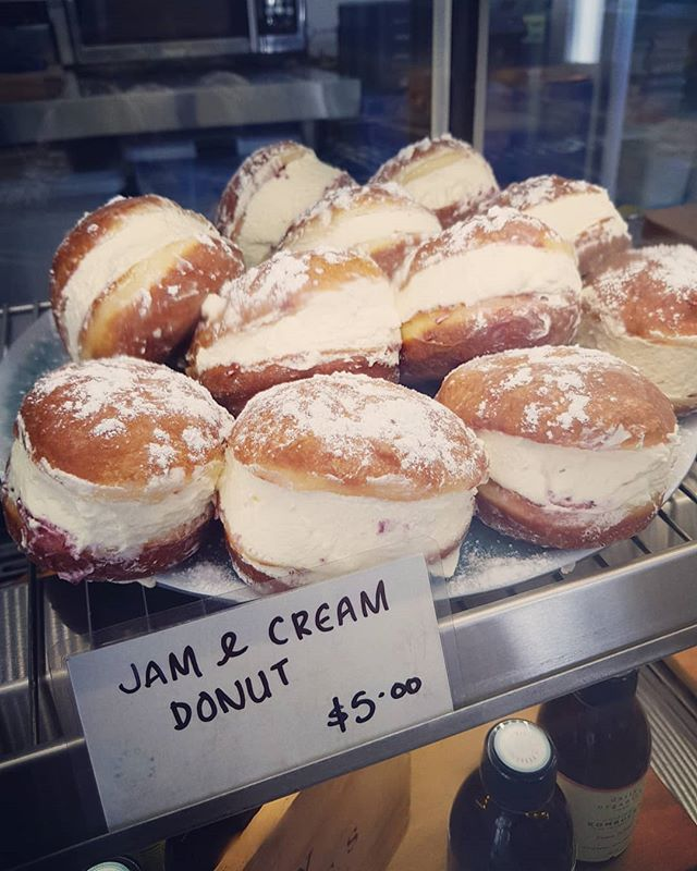 We'll just leave these here..... #donuts  @colbylunchbar