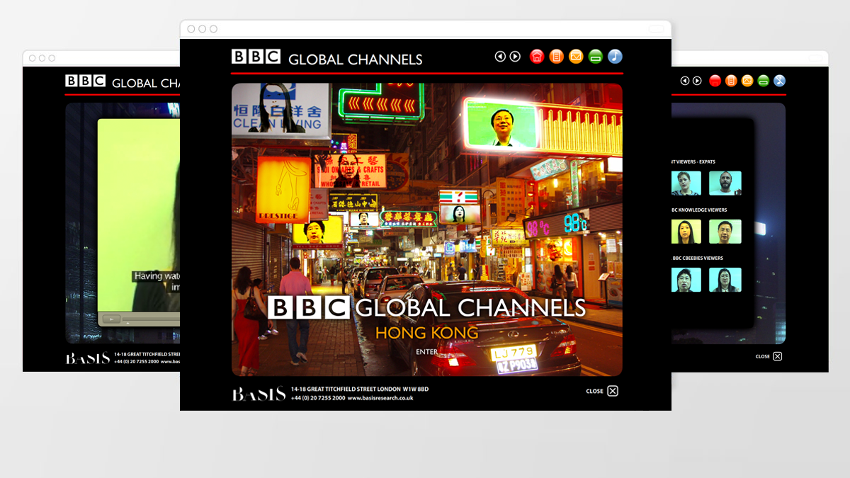 Interactive online portal built for BBC Worldwide, containing project insights and video footage