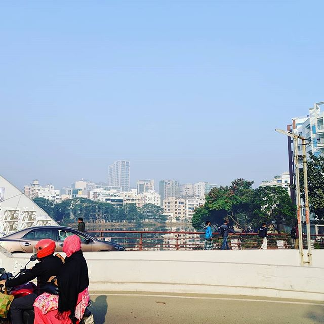 Hereward and Violette are having qual times in Dhaka, exploring issues around identity, gender and mobile technology. Travelling to rural Kalihati tomorrow for a different perspective.  #dhaka #banglagram #qual #marketresearch #travel