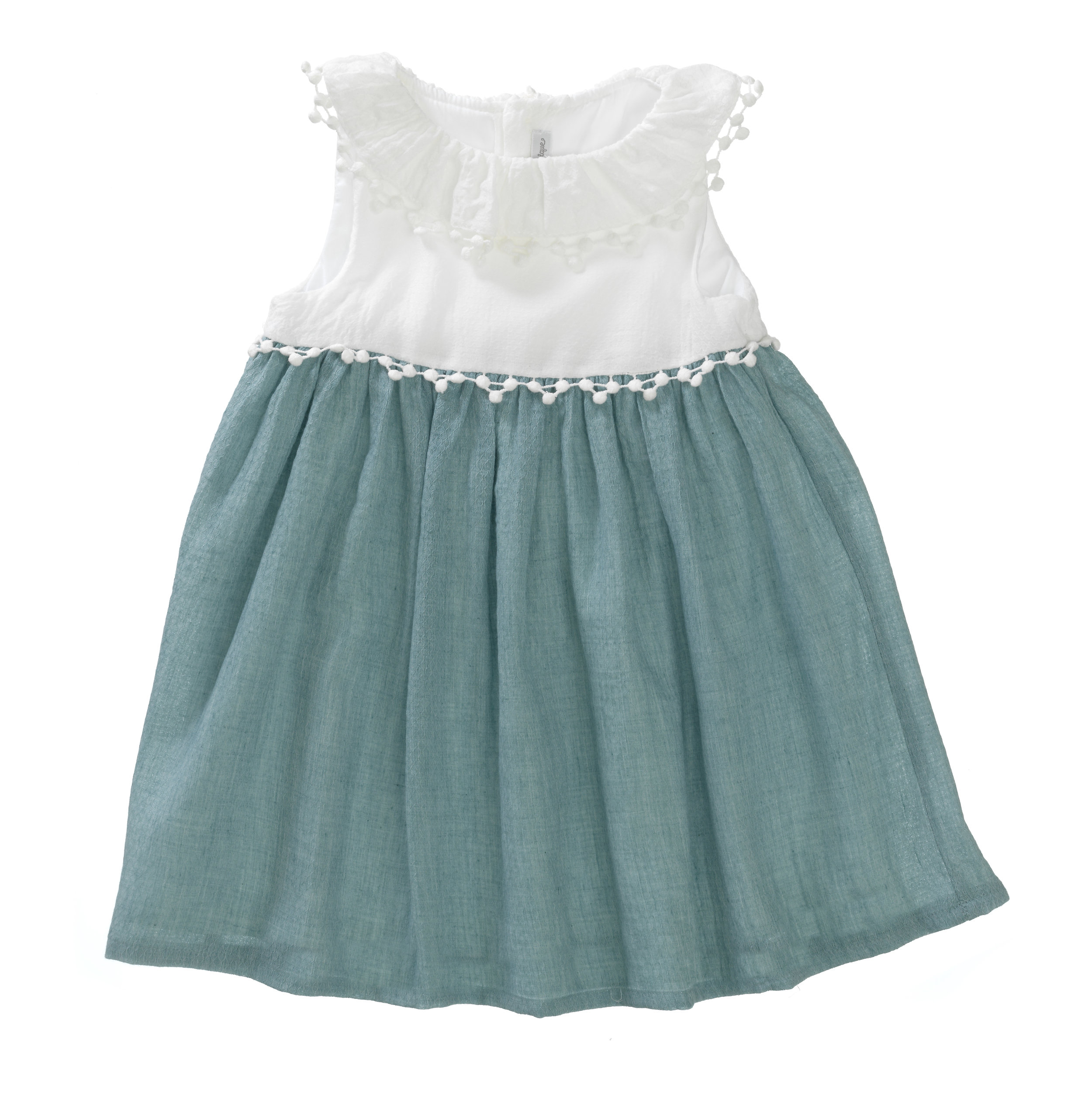 This dress from Pluunge that was kindly gifted, has stunning detailing, that pom pom trim!