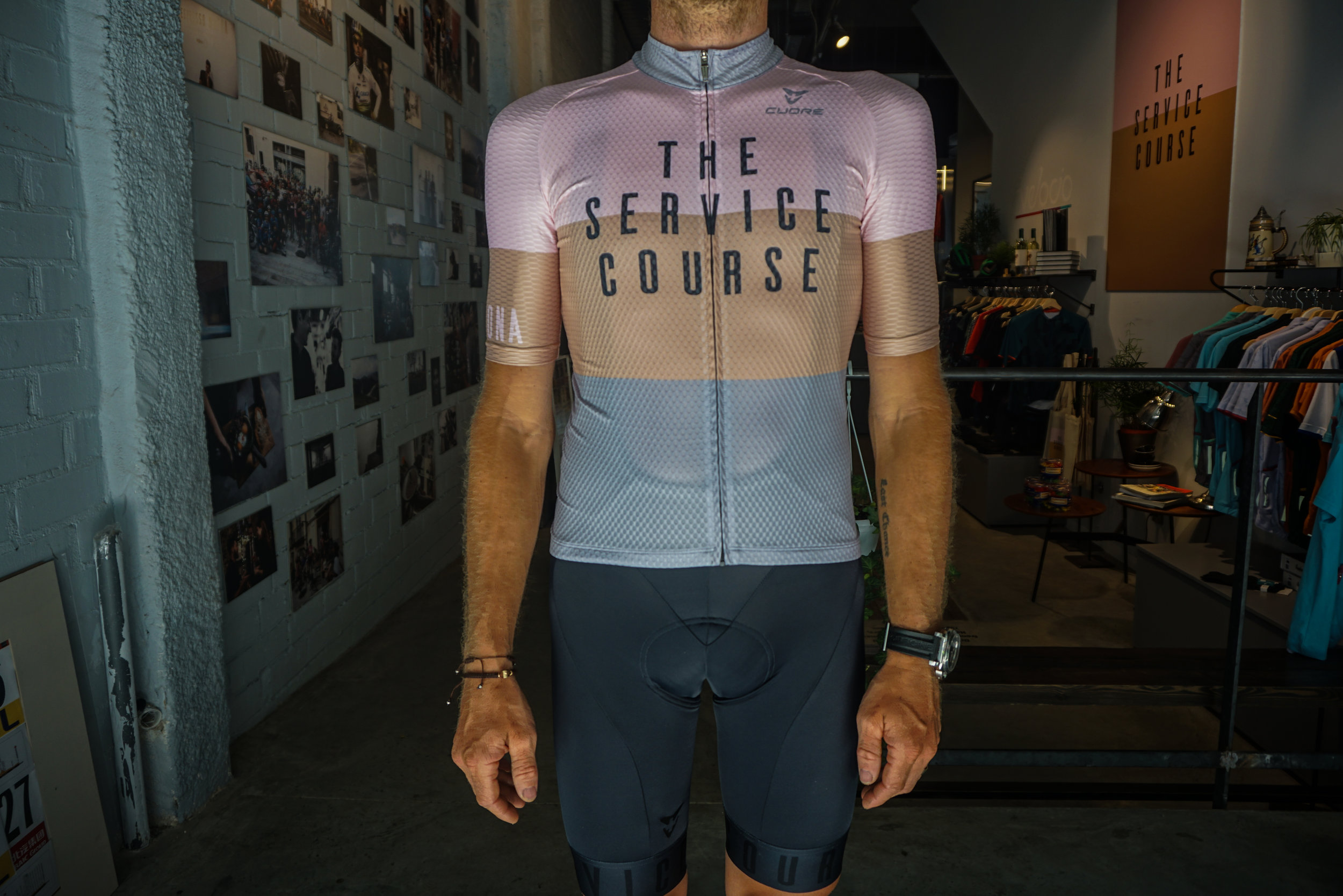 The Service Course Jersey -