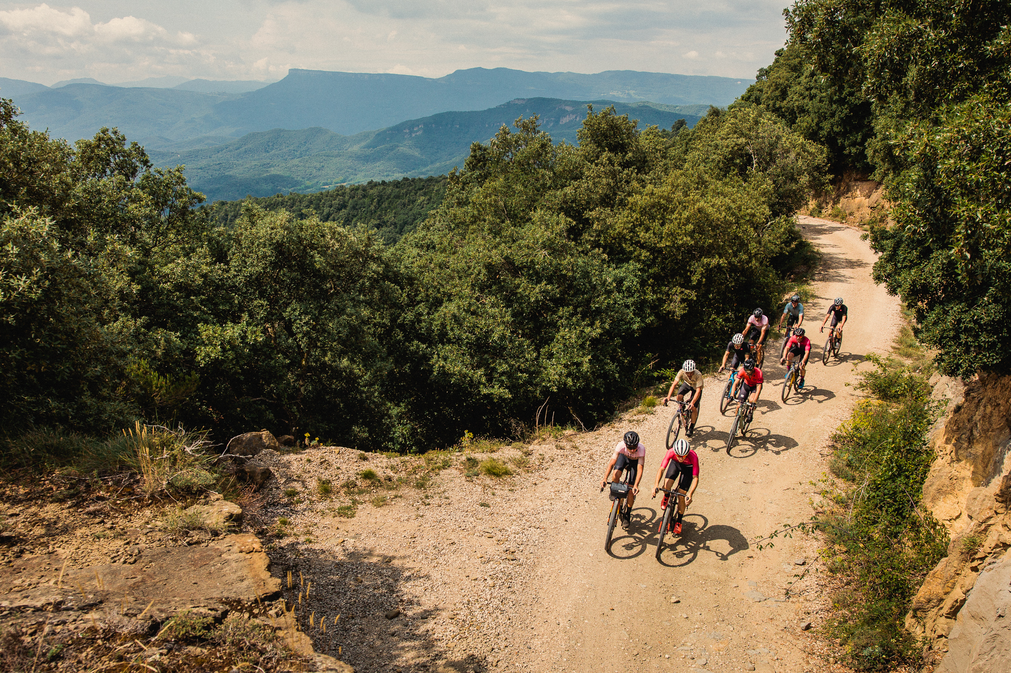 Gravel Tour - Three days of Girona's best gravel, from the coast to the mountains.