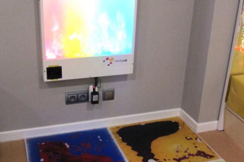 Aula multisensorial:  Es un espacio donde los niños adquieren una serie de aprendizajes mediante el descubrimiento y la exploración sensorial.
