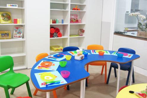 Talleres manipulativos:  Las actividades que se llevan a cabo en este espacio ayudan a mejorar y desarrollar habilidades más específicas.