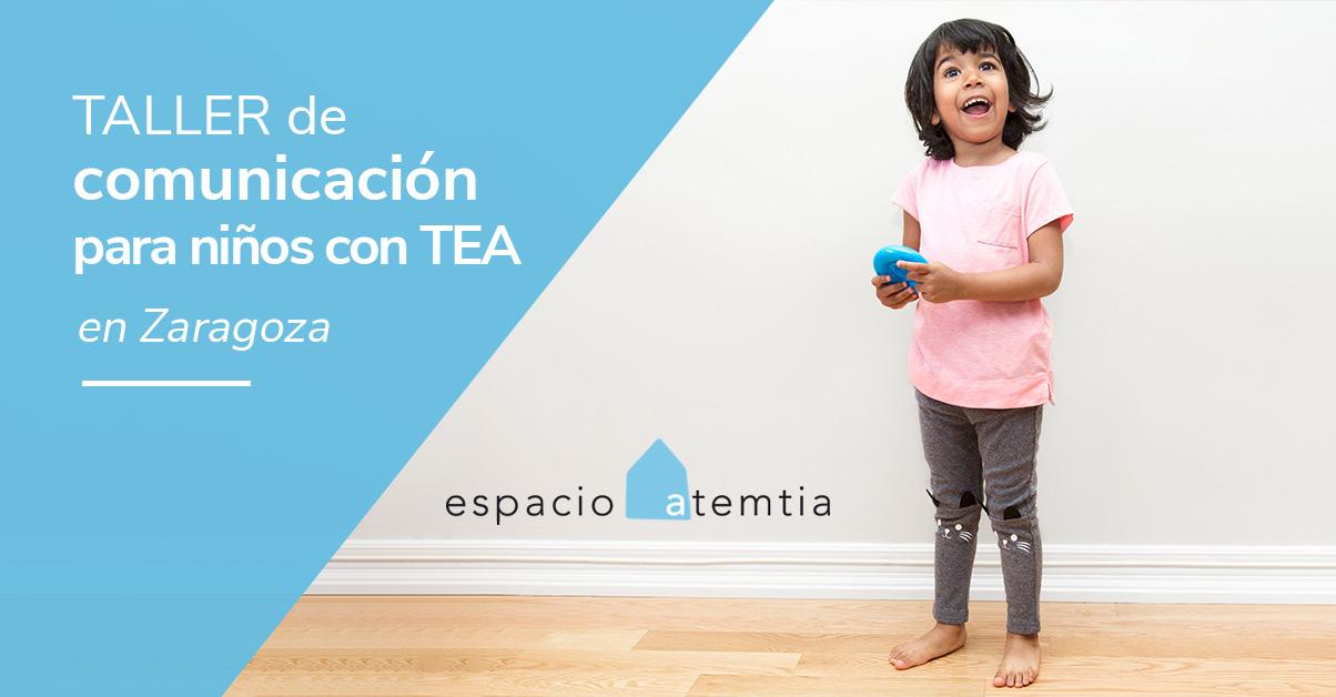 Taller de comunicación para niños con TEA