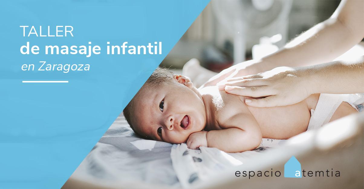 Taller de masaje infantil para bebes en zaragoza