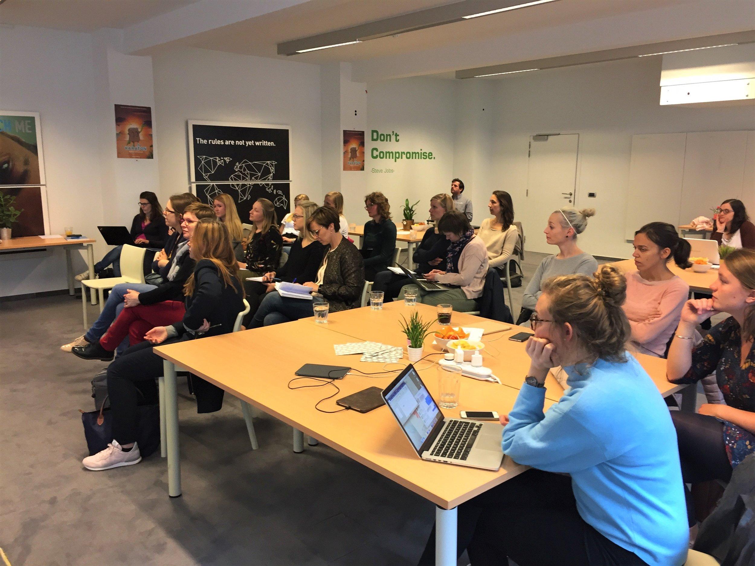 Meer fotos van vorige workshop
