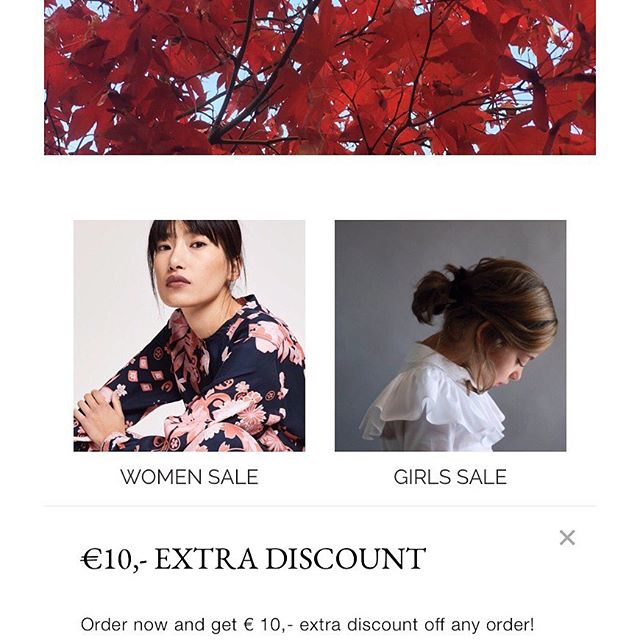 Shop our last SALE items and get an extra €10,- Off On Any Order! Free Shipping applies according to region and cart total. Check our website for details.  Happy Shopping! . . . #shopping #onlineshopping #sale #finalsale #incfashionamsterdam #womenandkidsfashion #madewithrespectforplanetandpeople #sustainablefashion #aiayu #closed #closedofficial #rubytuesday #rubytuesdaybrand #bobochoses #kidscase #stellakids #stellamccartneykids #wolfandrita #gosoaky #veja #saltwatersandals #webshop #discount #sale