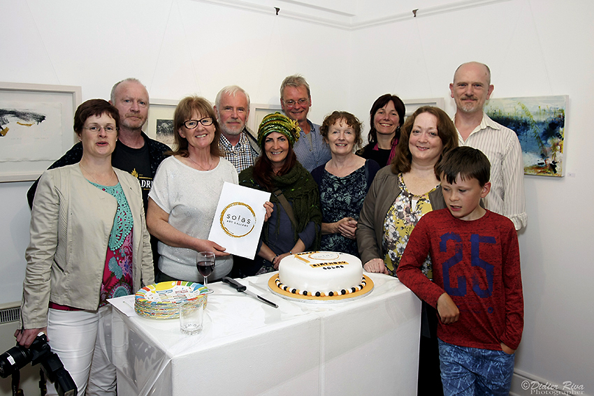 SOLAS GALLERY CELEBRATING IT'S 10TH BIRTHDAY WITH PRESENT AND PAST COMMITTEE MEMBERS