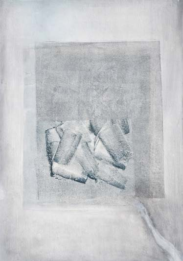 Under Grey is Blue. Wax & Pigment monotype collage.-1 by Niamh O'Connor.jpg
