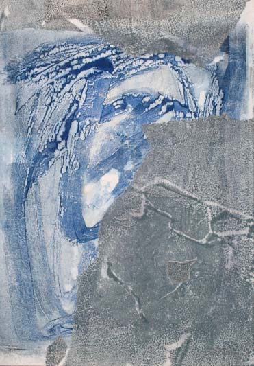 Surge - Wave. Wax & Pigment monotype collage by Niamh O'Connor - Copy.jpg